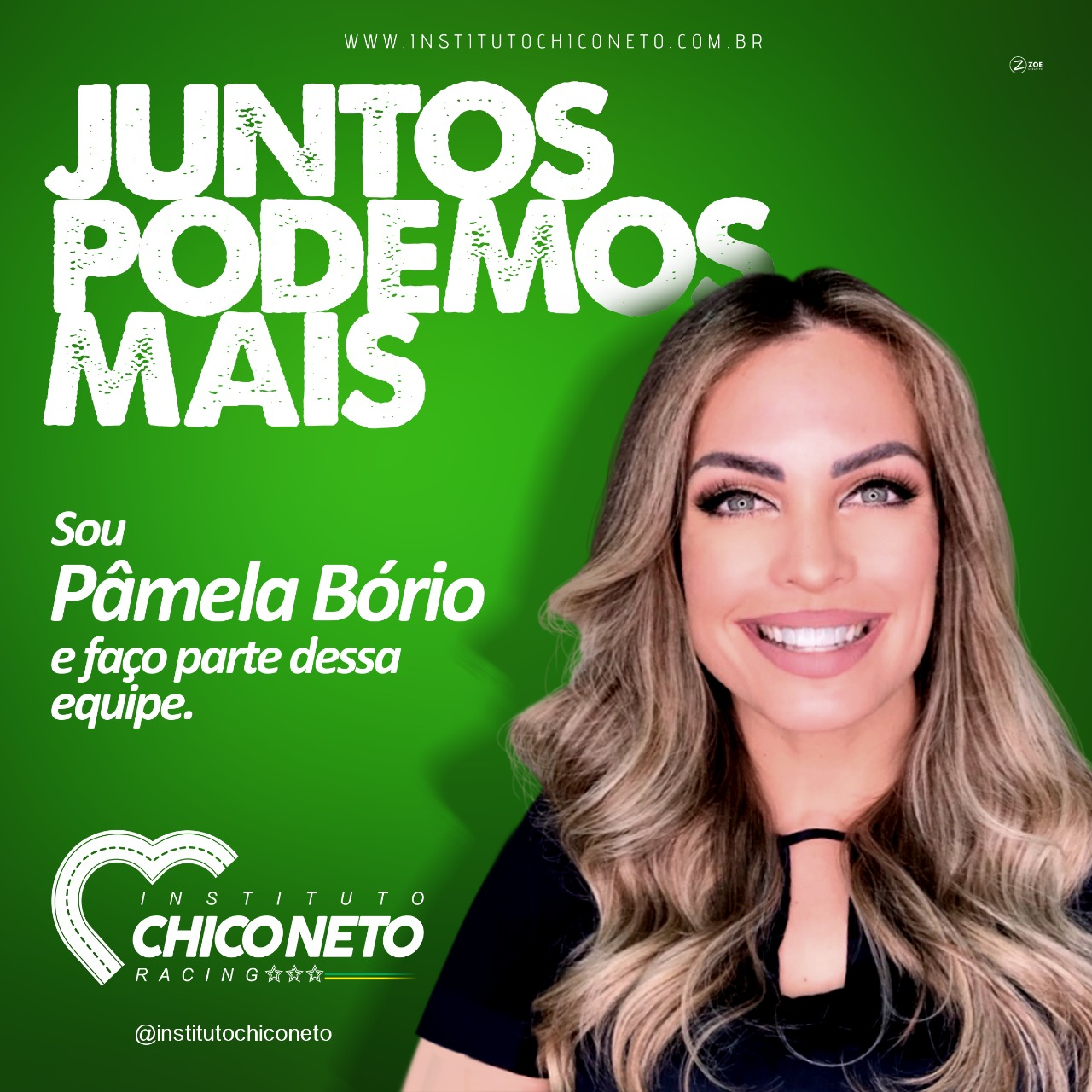 ESTA NO AR O PRIMEIRO PROGRAMA DO INSTITUTO CHICO NETO